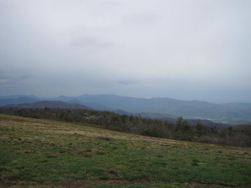 View toward Erwin and Unicoi.