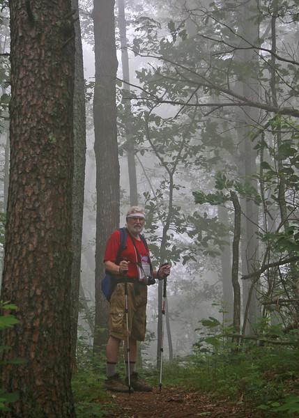 Mike in the fog