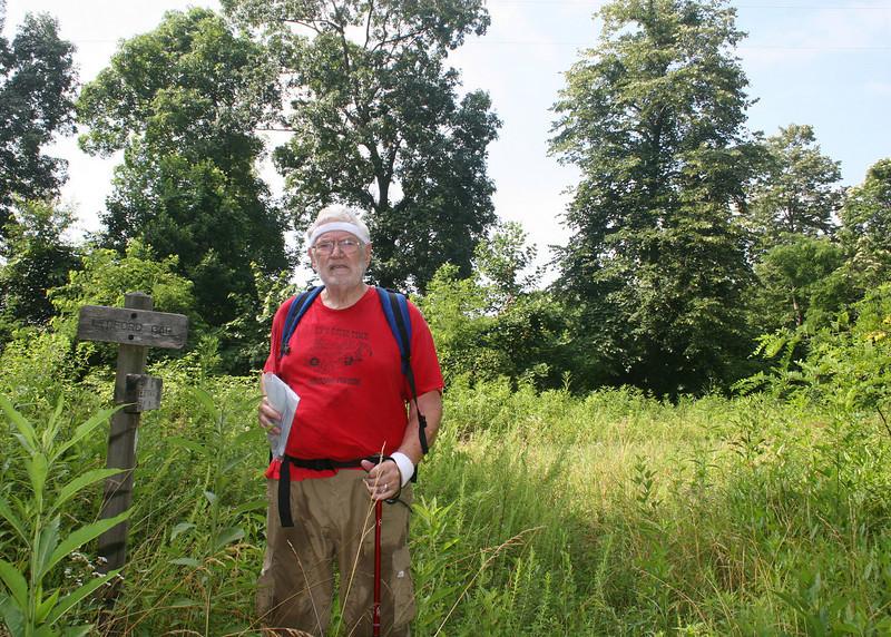Mike at Ledford Gap