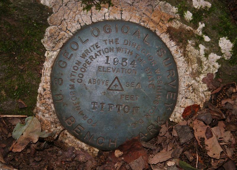 Old survey marker