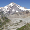 360 degree view from peak near Glacier Peak