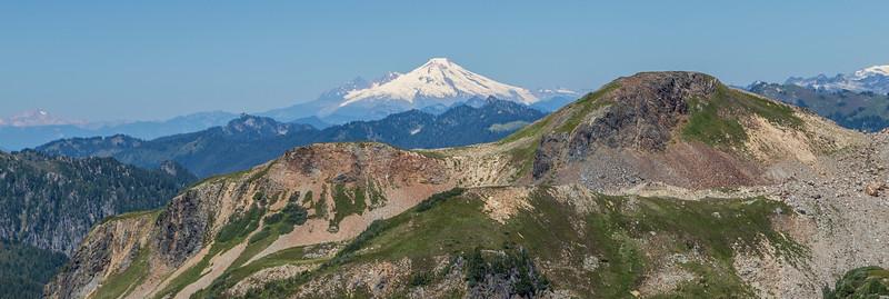 Mt Baker from Glacier Peak