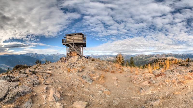 Goat Peak Lookout, Fall 2017
