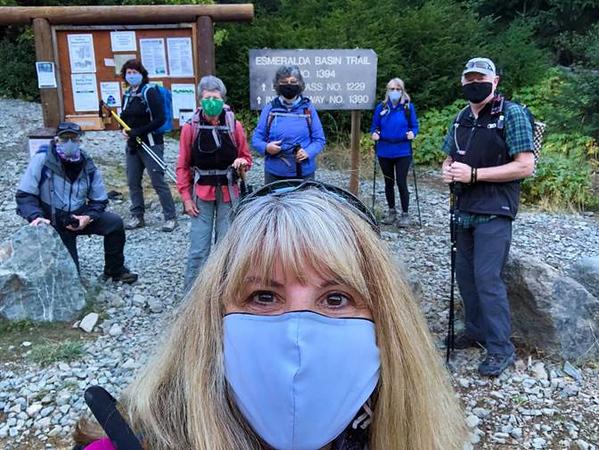 Happy Hiker Trailhead Photo