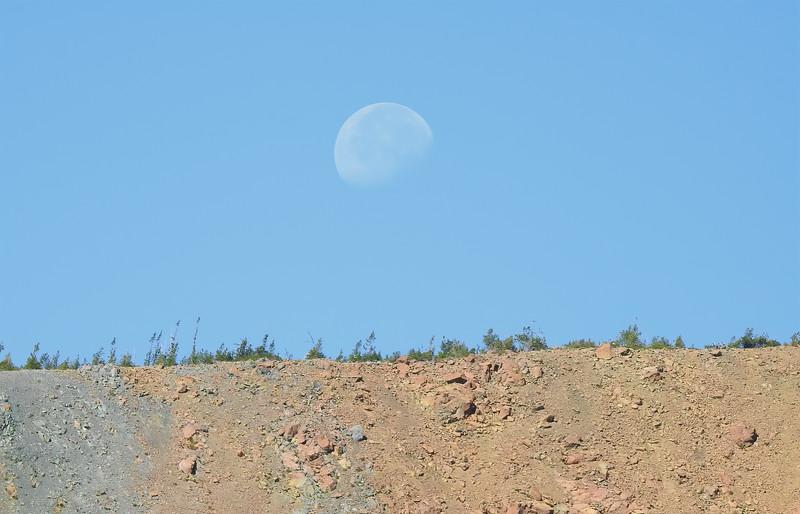 Moon and the Ridge