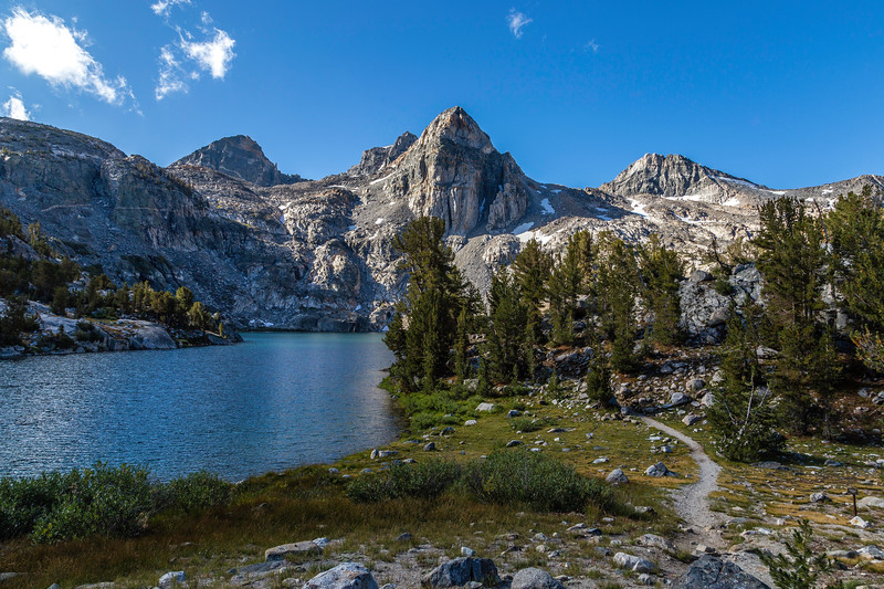 Rae Lakes and trail to Glen Pass_MG_4757