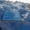 Mt Whitney National Park Service plackard 9-16-17P1020363
