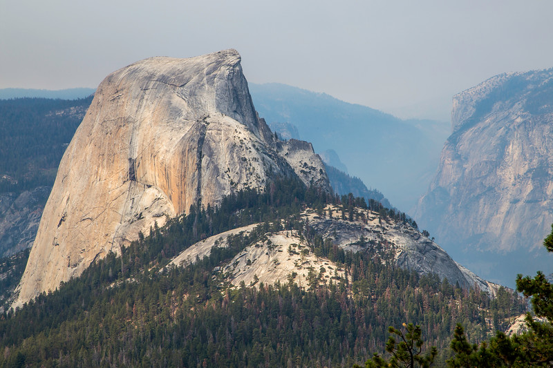 Half Dome and Yosemite Valley from Clouds Rest trail 8-29-17_MG_3543