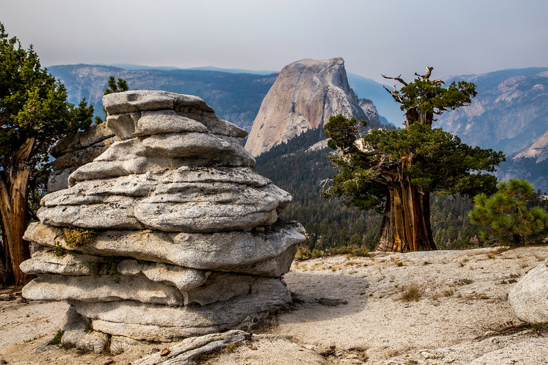 Half Dome from Clouds Rest trail 8-29-17_MG_3547