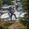 Kathy-snow on trail to Tuolumne Meadows 8-31-17_MG_3698