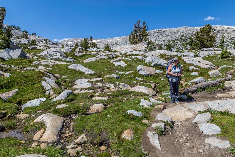 Kathy on trail to Island Pass 9-2-17_MG_3926