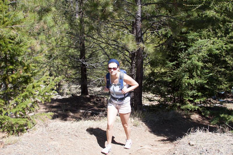 Manastash Lake Trail 1350 to Lost Lake