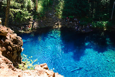 The Blue Pool, McKenzie River, Oregon