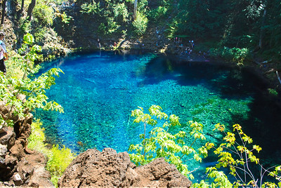 The Blue Pool, McKenzie River, Oregon