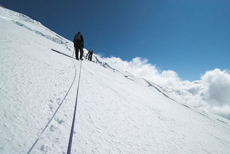 Getting steeper!