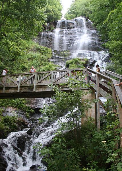 Bridge and Amacalola Falls