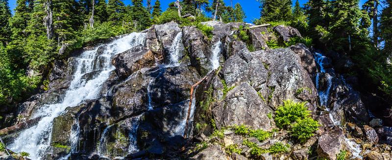 PCT 2016 Waterfall below Spectial Lake 7-29-16_MG_1081-Pano