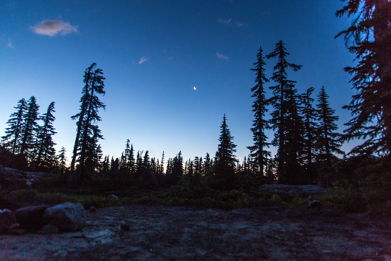PCT 2016 Dawn from Tent at Spectical Lake 7-30-16_MG_1163