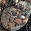 Potsherds near Pueblo Creek.