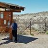 Trailhead for the San Francisco Hot Springs trail, near Glenwood, NM