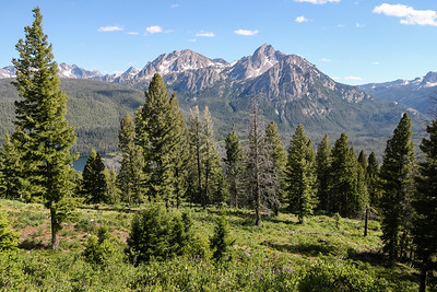 View from Elk Mountain, Sawtooth Overlook.