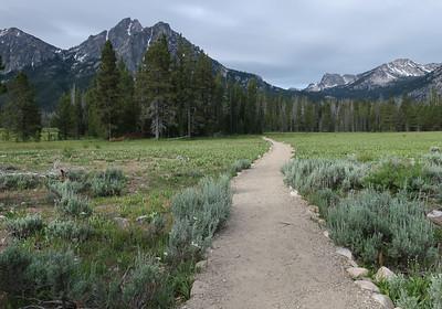 Stanley Lake trail #640.