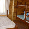 Bedroom with double and bunks