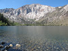 Mount Laurel over Convict Lake (we backpacked up convict canyon)