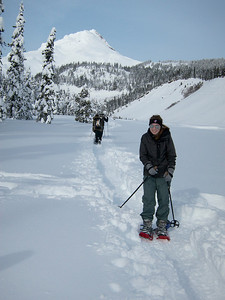 12.28.2012 Snowshoeing along the White River, Mt. Hood.