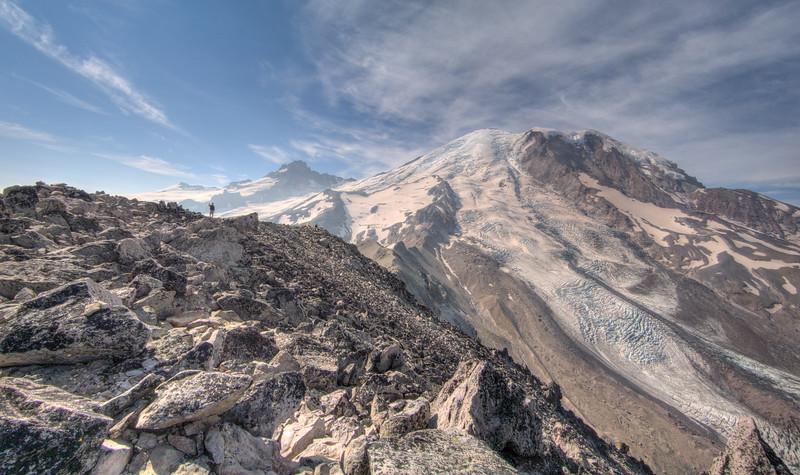 Third Burroughs Mountain, Mt. Rainier 2017