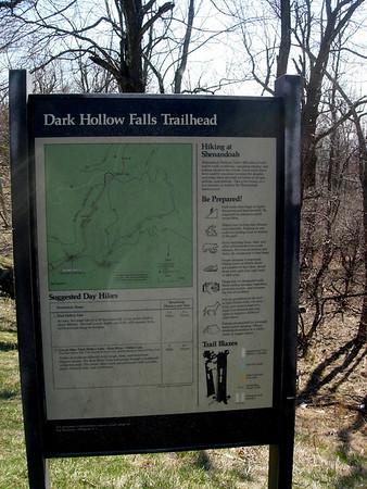 Three Falls in Central Shenandoah 4/16/08
