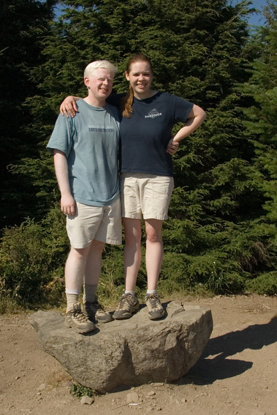 "<p>Ben and Sarah at the summit</p> <p class=""credit"">Photo by Sydney Leff</p>"