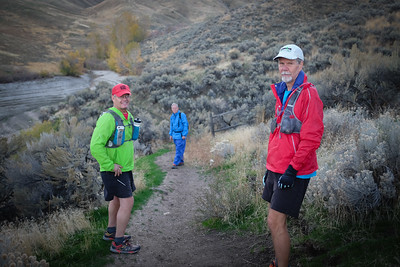 Start at Turner Gulch:  Mike, Ulli, Randy.