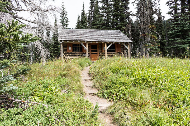 Made it to Indian Henry's Hunting Ground.  This is the best back country ranger station in the park. I ran into the Ranger stationed there on the trial and he said it took him 15 seasons to earn this job.  Nice!