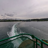 Ferry leaving Annacortes