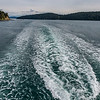 Scenery on the ferry ride from Annacortes to Orcas Island
