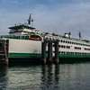 The ferry that took us from Annacortes to Orcas Island, seen from water level