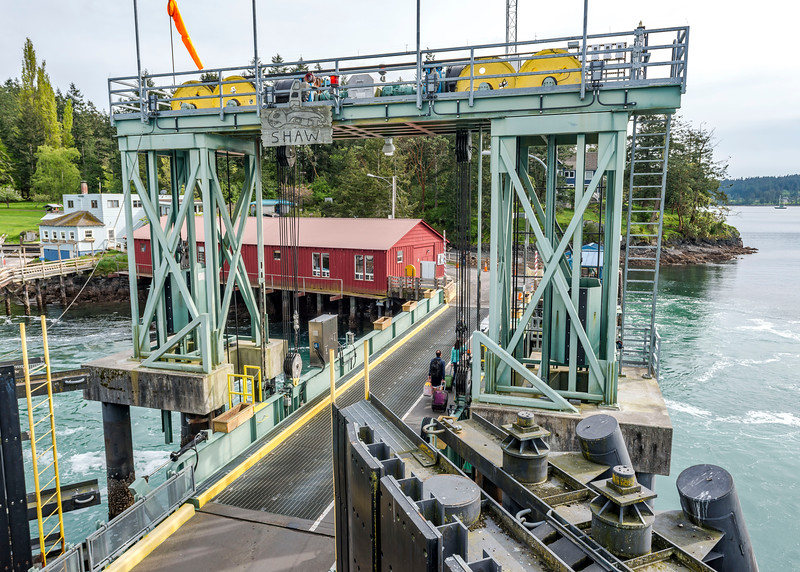 Shaw Island ferry terminal.  First and only stop between Annacortes and Orcas Island.