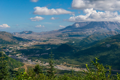 Mount Saint Helens from the Elk Rock Viewpoint.