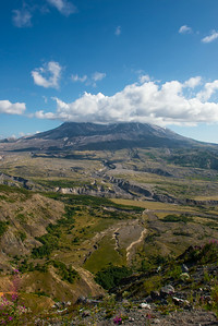 Mount Saint Helens from the Johnston Ridge Observatory.
