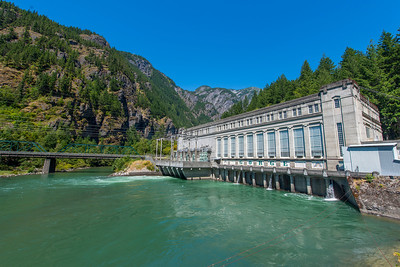 Gorge Powerhouse in Newhalem, WA