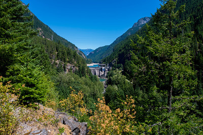 The Gorge Dam on the Skagit River.
