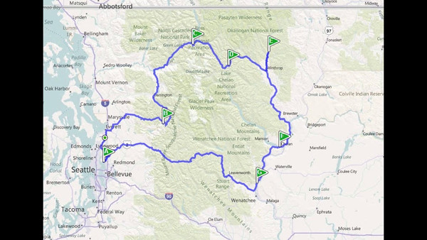 John & Aaron's North Cascades Camping Trip - 2011