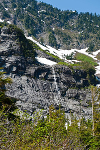 Scenery along the hike to the Big Four mountain ice caves