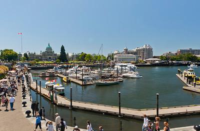 Victoria's inner harbor