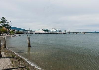 The Annacortes ferry dock