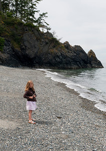 Kaitlyn at Deception Pass