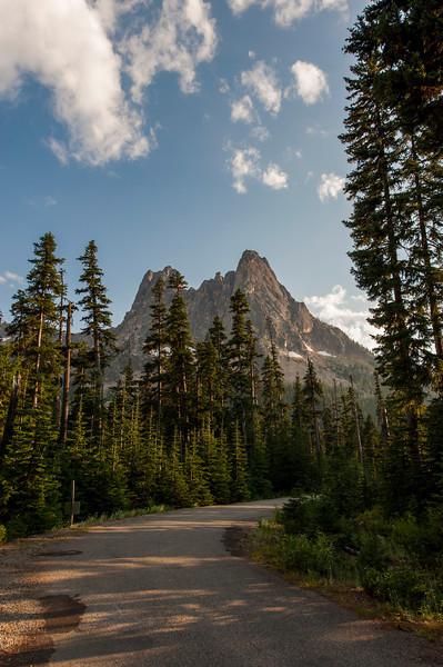Liberty Bell mountain near Washington Pass