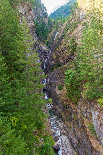 Waterfall near the Gorge Dam