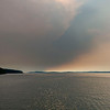 More views of the wild-fire / smoke caused overcast.